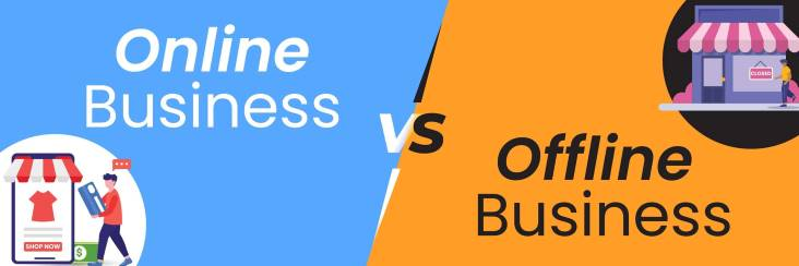online business vs offline business