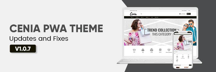 Cenia Pro PWA theme 1.0.7 for Magento 2