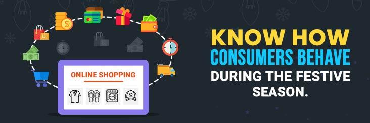 How consumer's behavior changes during the festive season