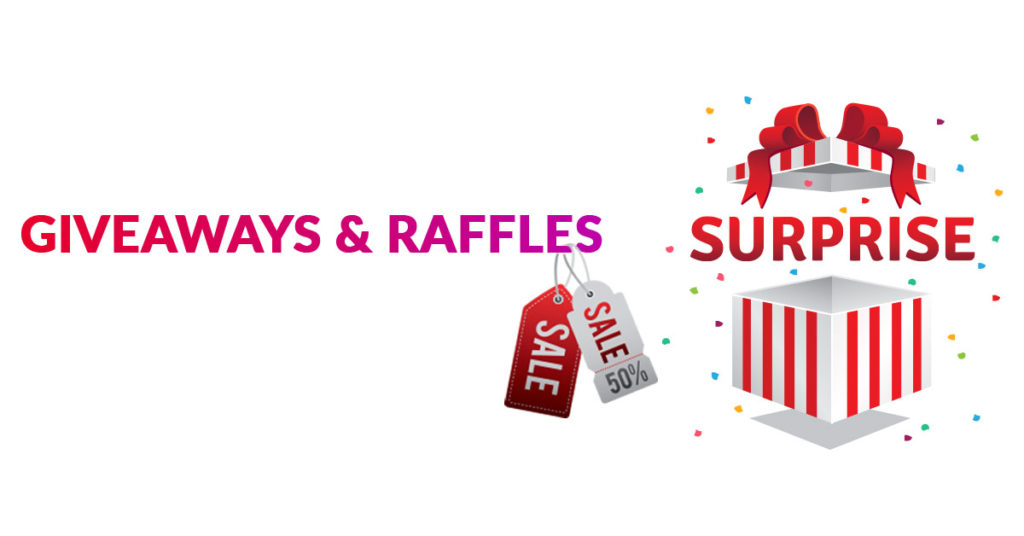 Raffles and Gifts