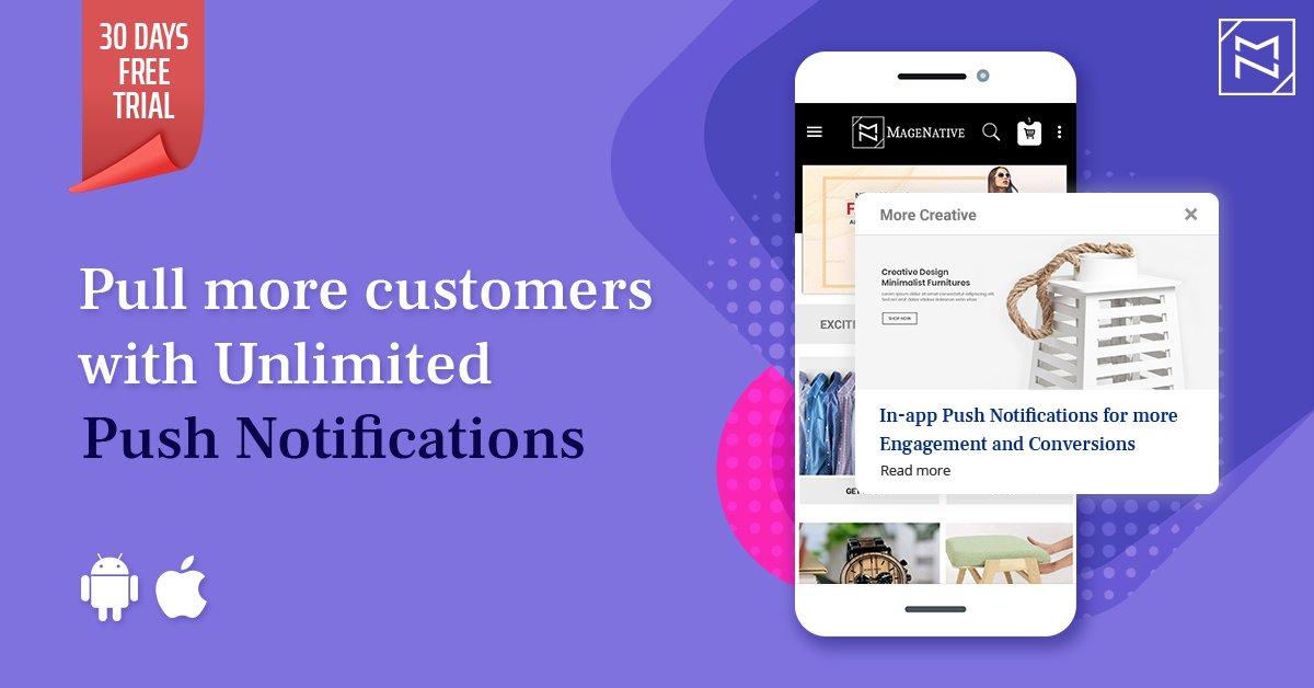 Push Notifications - Digital marketing ideas