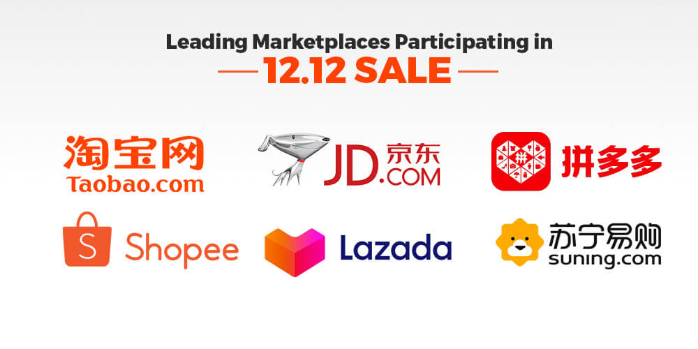 Marketplaces in 12.12 Sale
