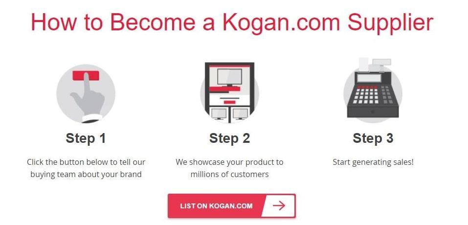 Become a Kogan supplier