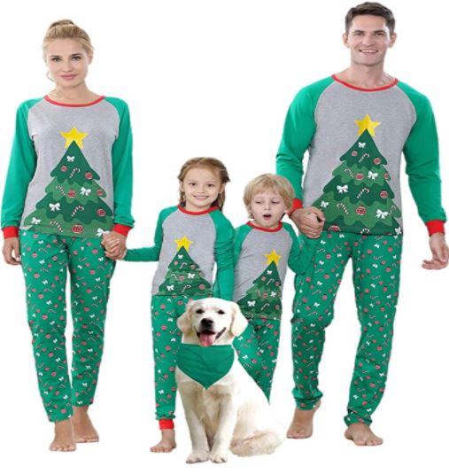 christmas pajamas sets