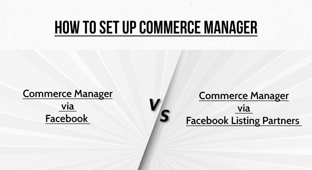 Setup Commerce Manager