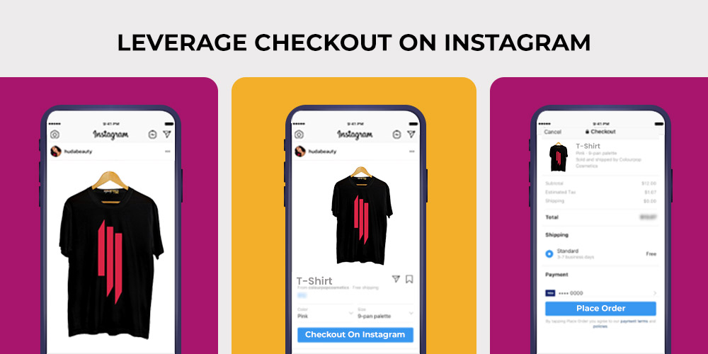 how to sell on Instagram checkout