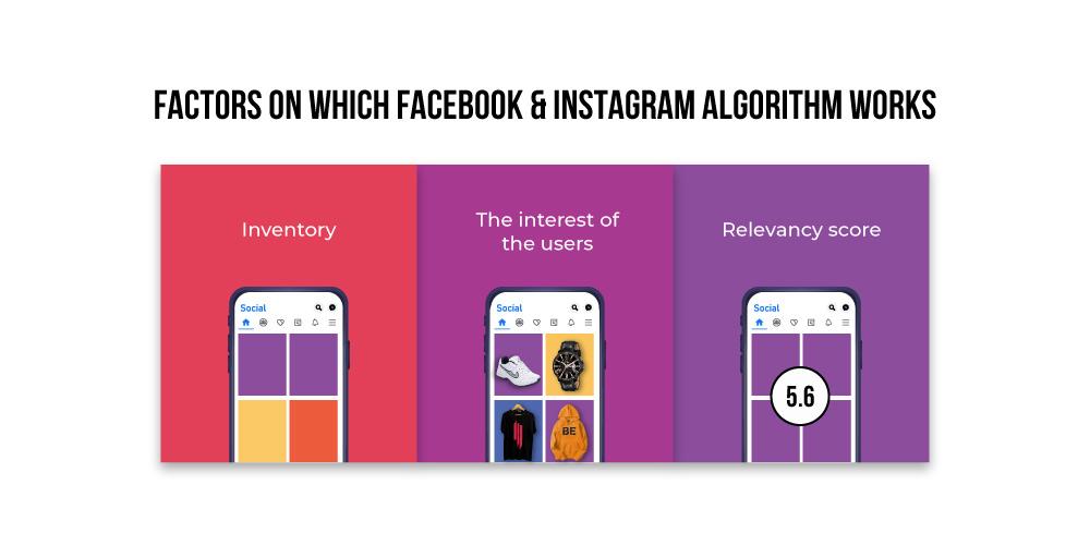 facebook algorithm and instagram algorithm