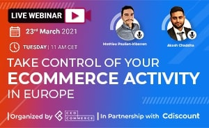 Take Control Of Your eCommerce Activity in Europe with Cdiscount & CedCommerce banner