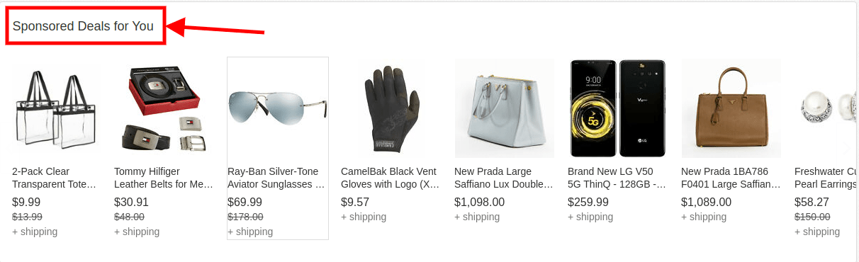 eBay sponsored deals-min