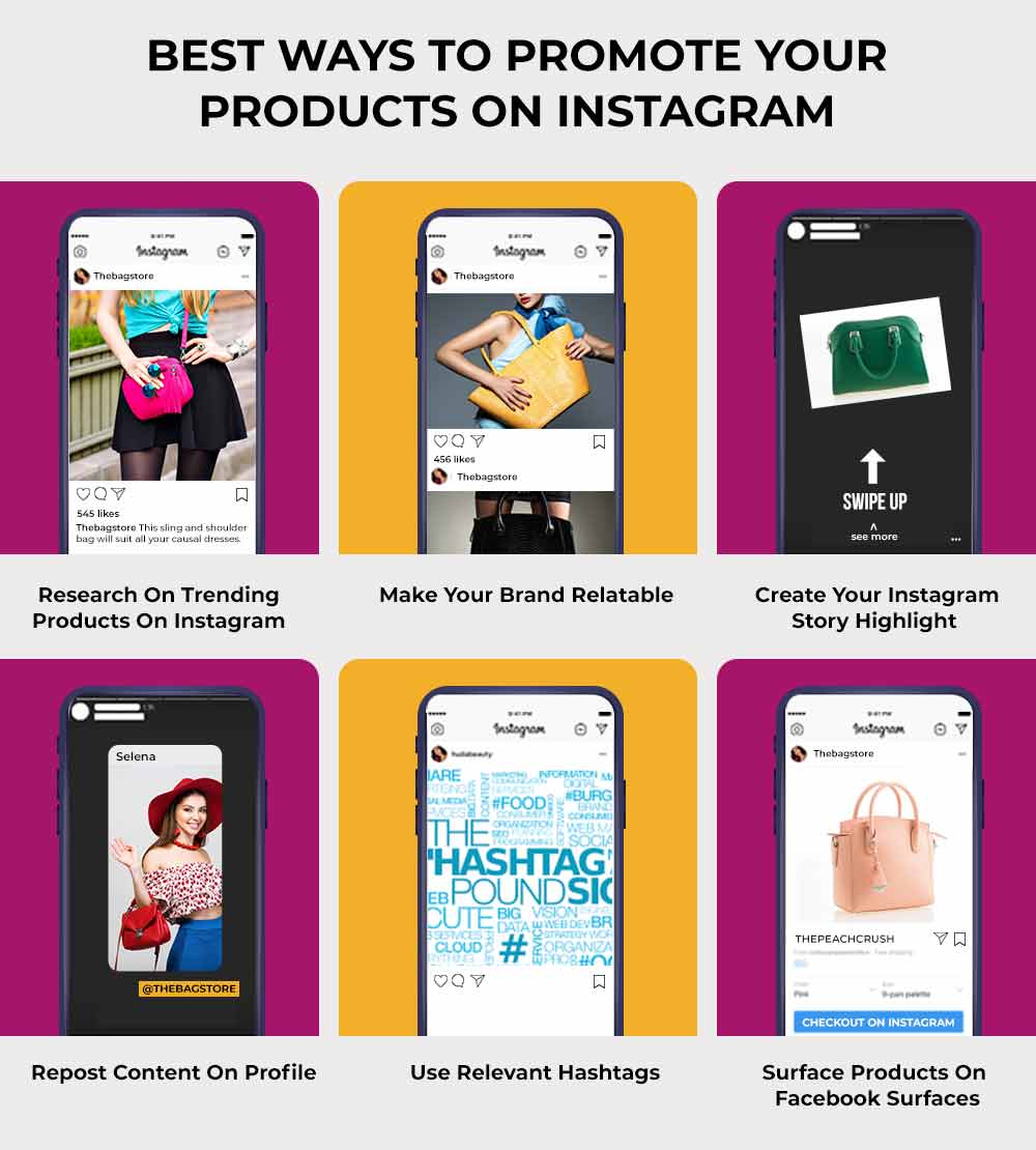 Marketing products on Instagram