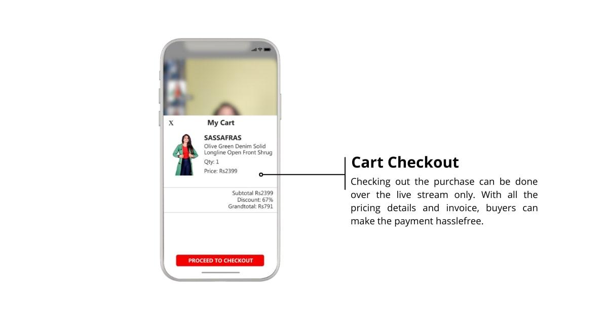 Cart Checkout Process