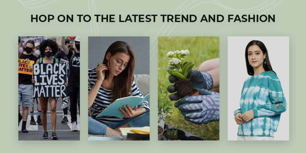 Hop on to latest trends