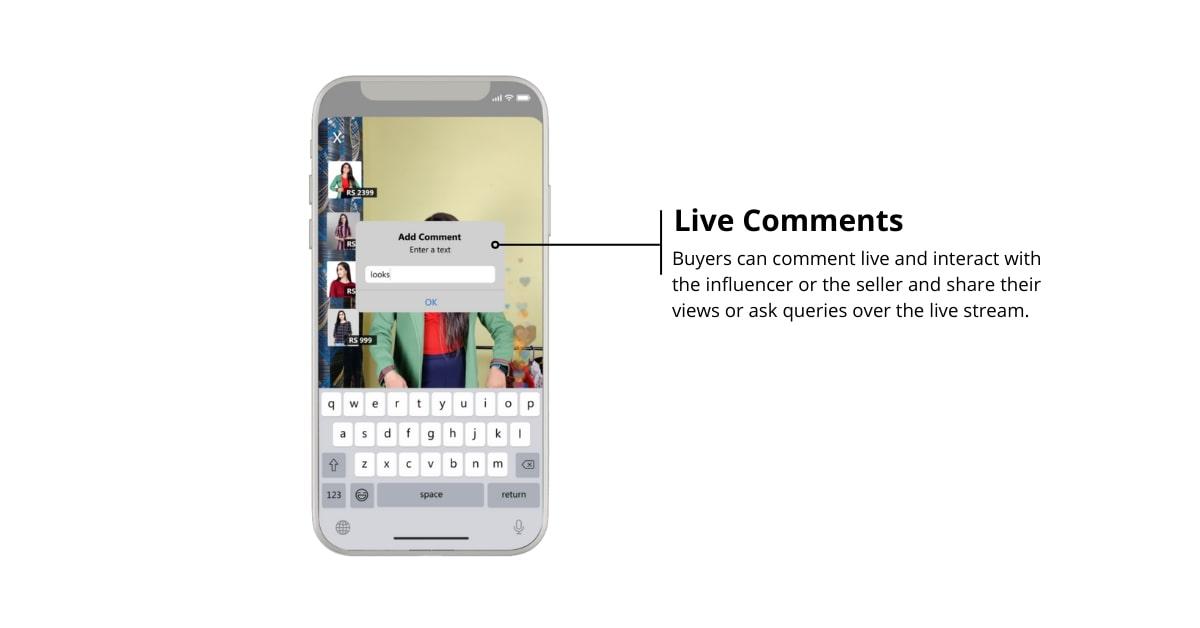 Live Comments