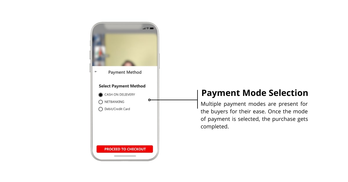 Payment Mode Selection