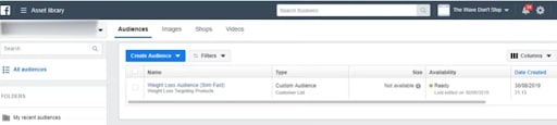 facebook custom audience for better insights