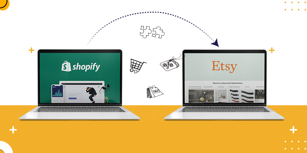 sell shopify products in etsy
