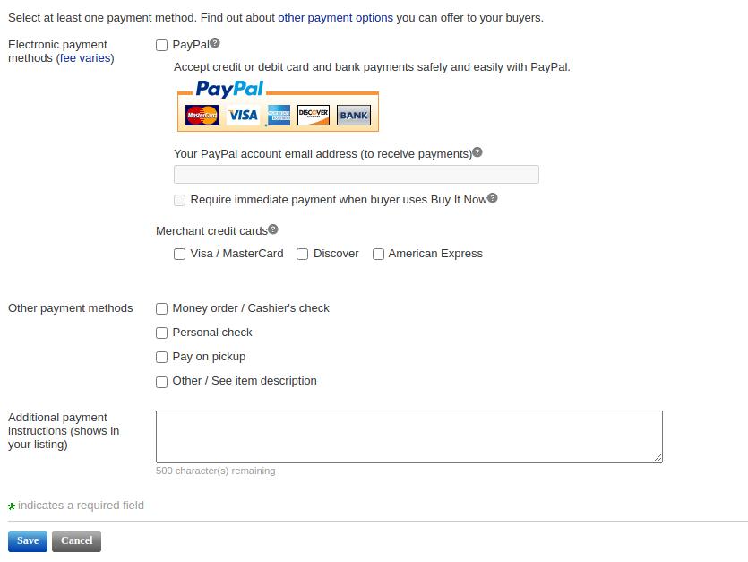 payment policies 2