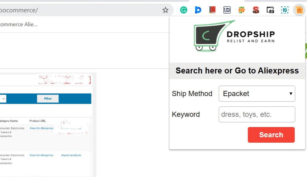 search by keywords