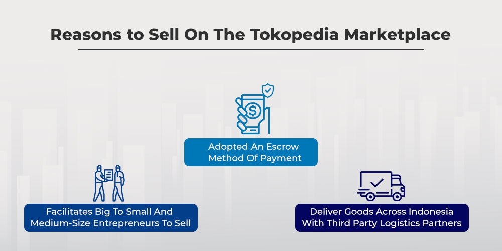 reasons to sell on the Tokopedia marketplace