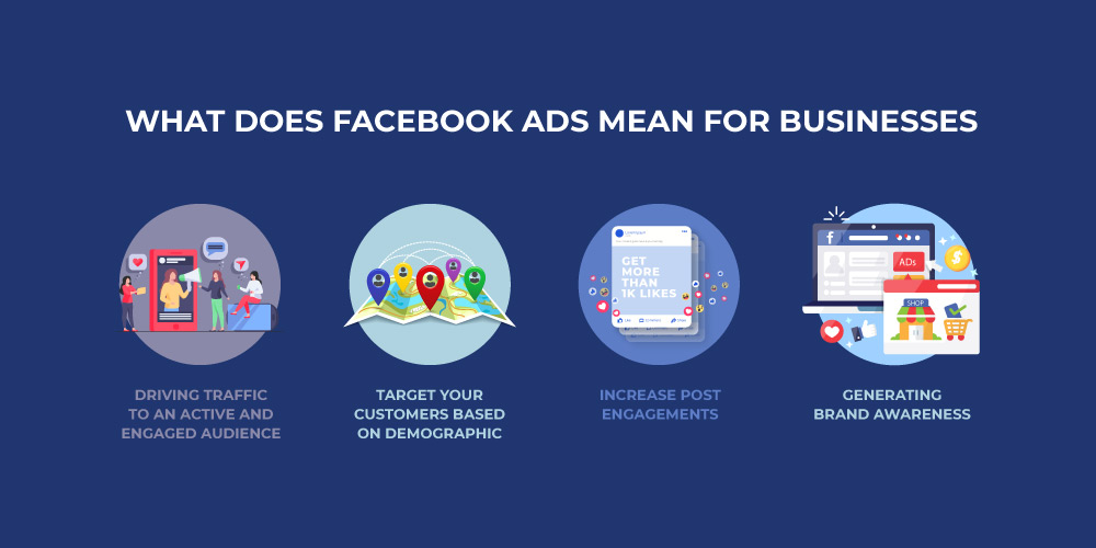 Facebook ad for business