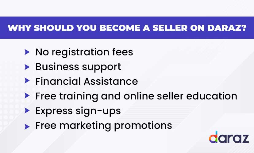 Why should you become a seller on Daraz