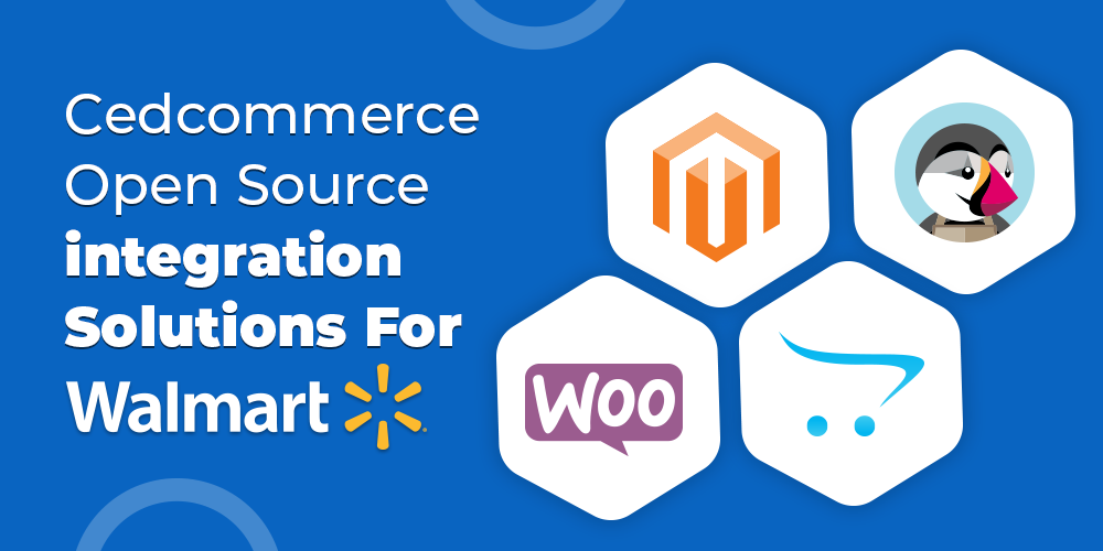 cedcommerce open source solutions for Walmart