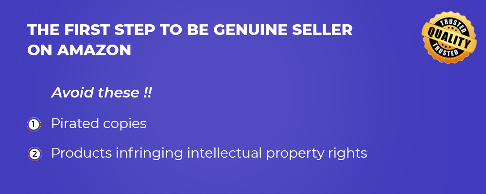 how be a genuine seller