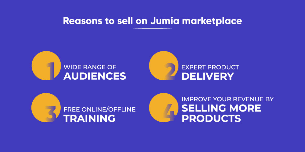 Reasons to sell on the Jumia  marketplace
