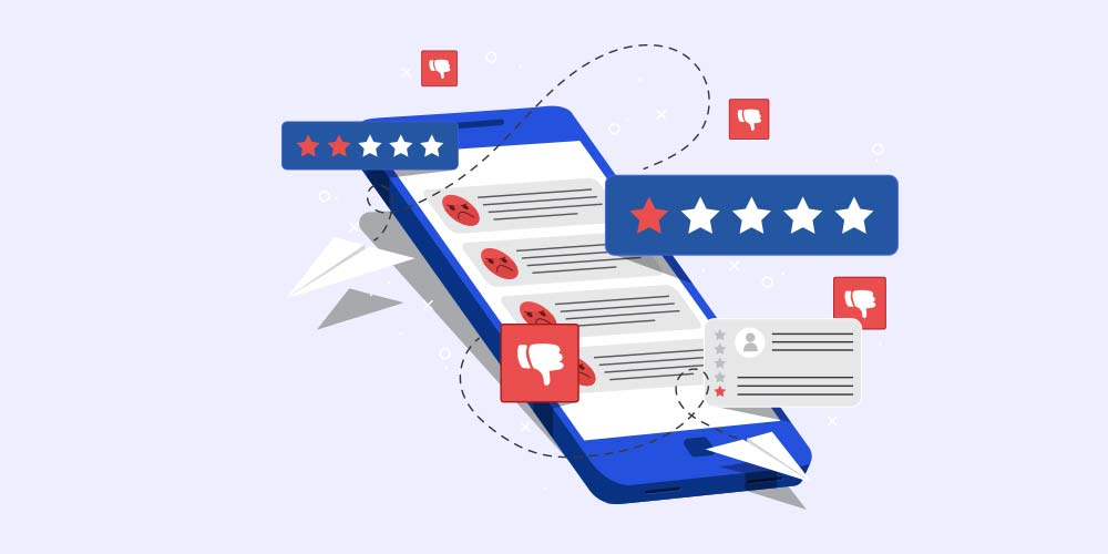 Know how to respond to negative reviews