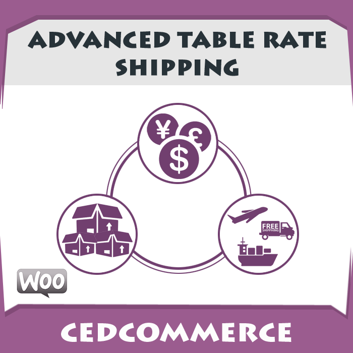 Advanced table rate shipping woocommerce extension for Table rate shipping