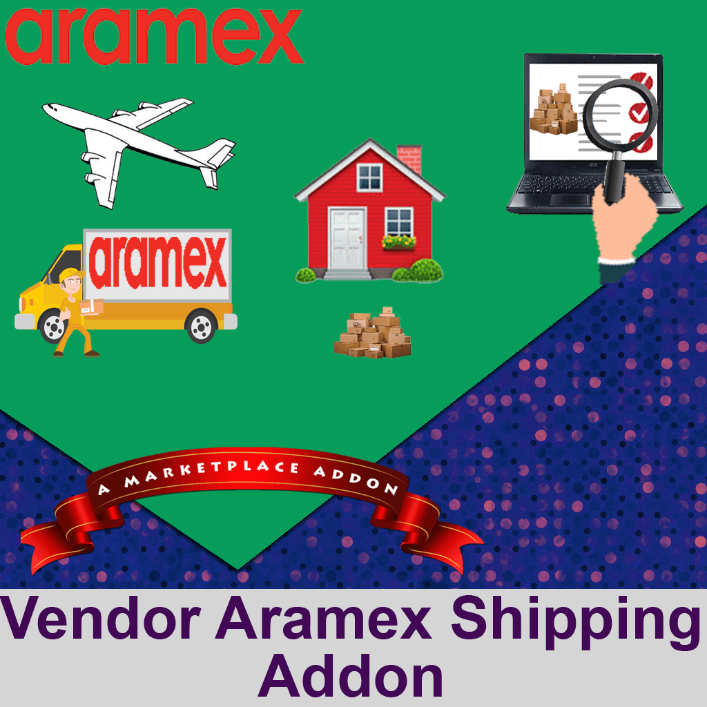 Vendor Aramex Shipping Addon