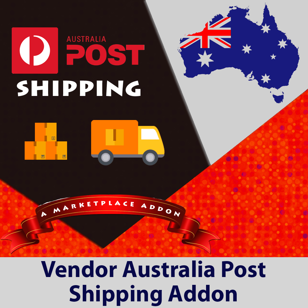 Vendor Australia Post Shipping Addon