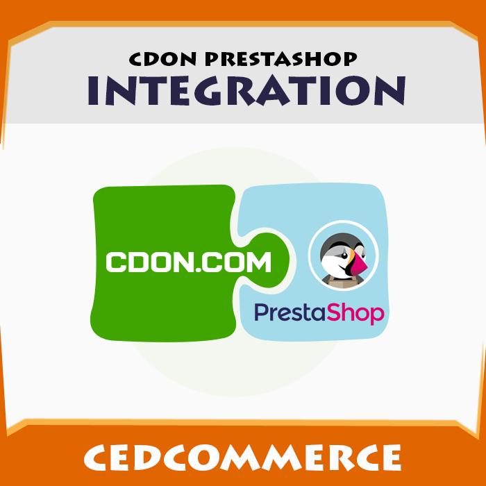 Cdon Prestashop Integration
