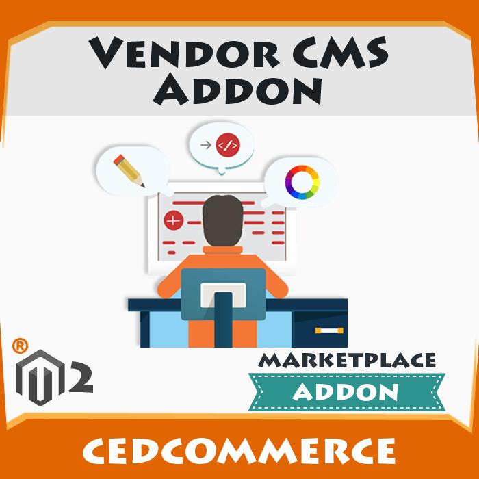 Vendor CMS Addon [M2]