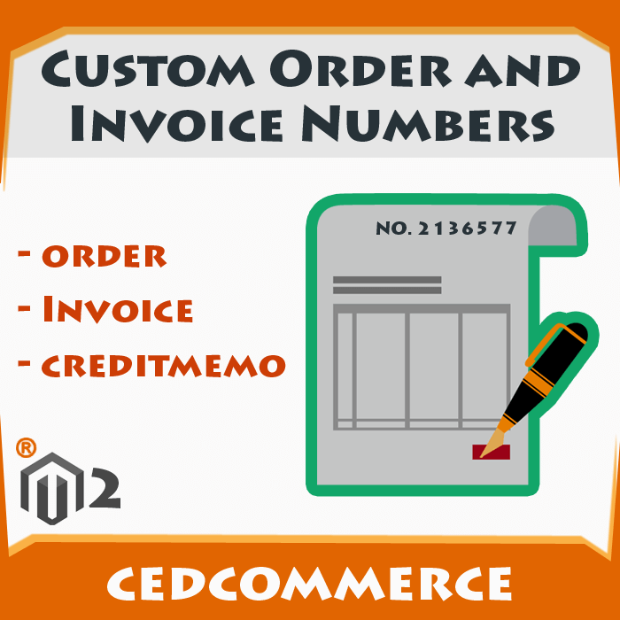 Custom Order and Invoice Numbers [M2]