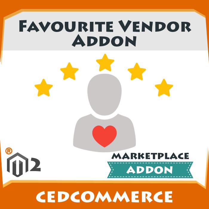 Favourite Vendor Addon [M2]