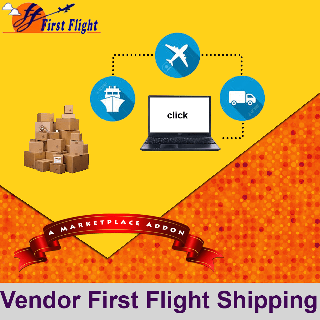 Vendor First Flight Shipping Addon