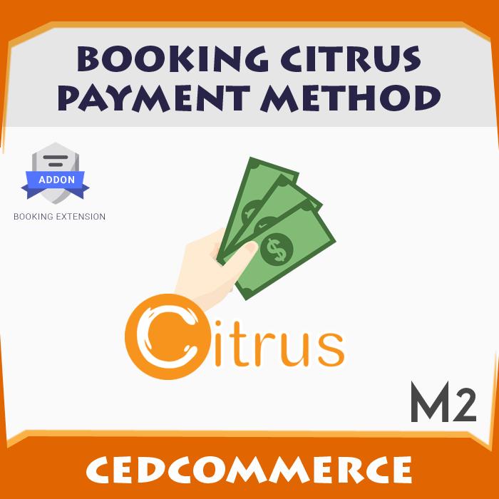Booking Citrus Payment Method