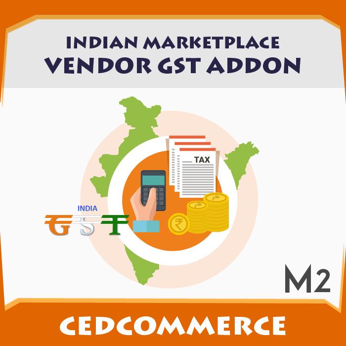 Indian Marketplace Vendor GST Addon [M2]
