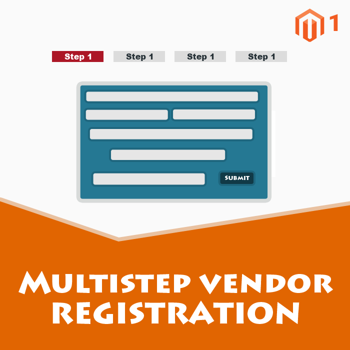 Multistep Vendor  Registration Addon