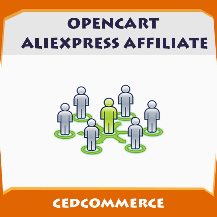 OpenCart Aliexpress Affiliate