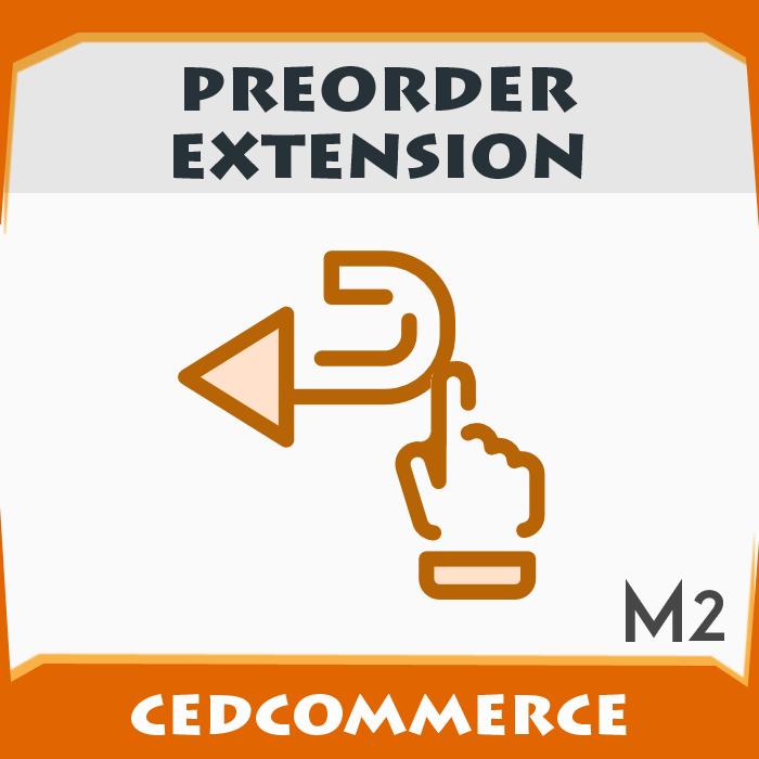 Pre-Order Extension  [M2]