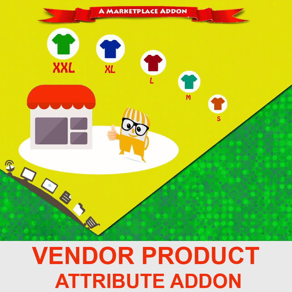Vendor Product Attribute Addon