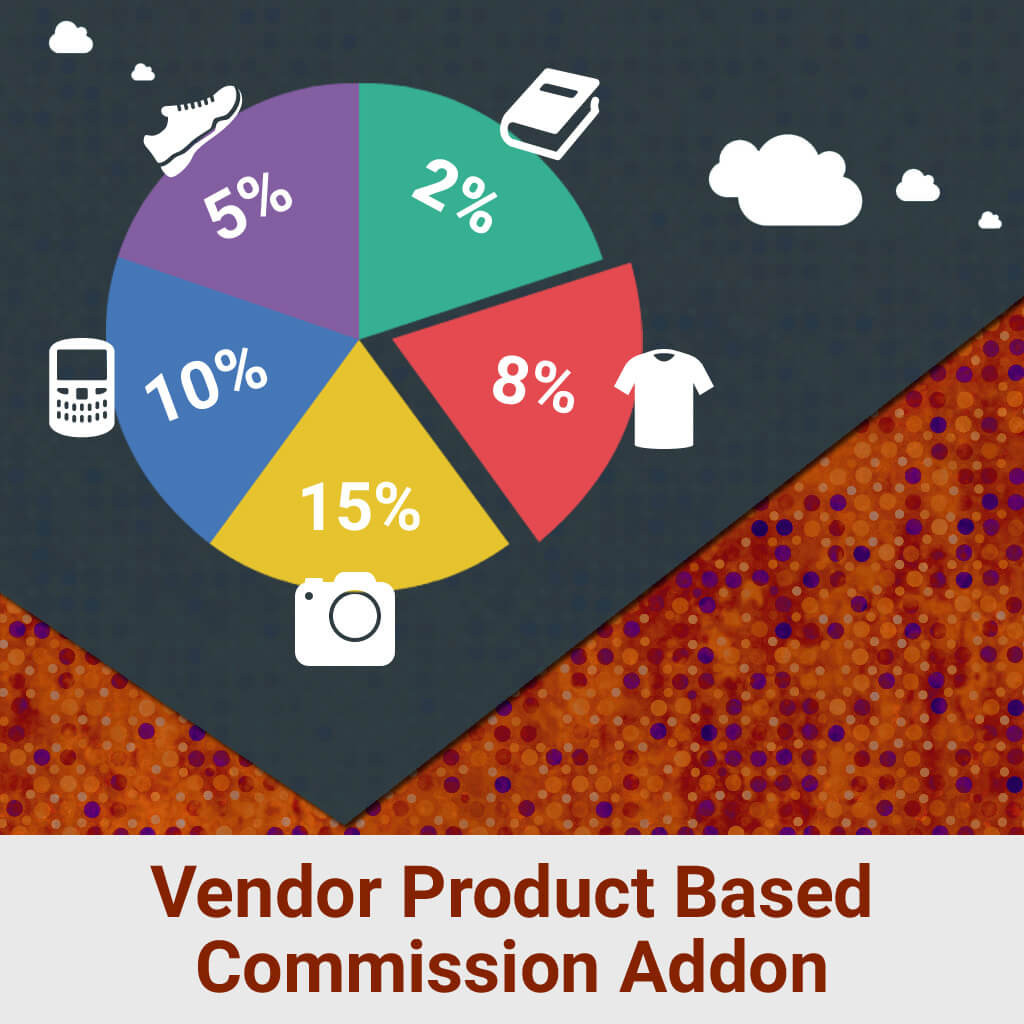 Vendor Product Based Commission Addon