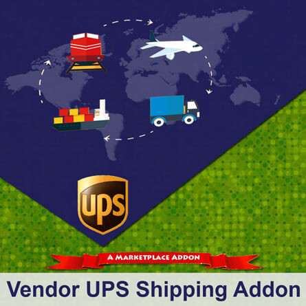 Vendor UPS Shipping Addon