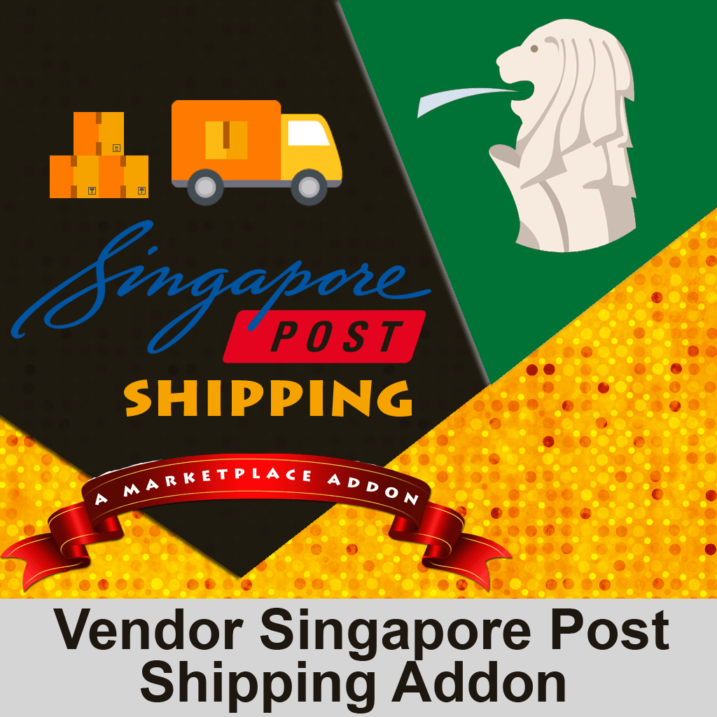 Vendor Singapore Post Shipping Addon