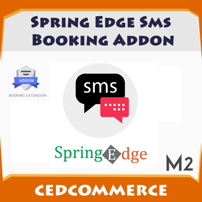 Spring Edge SMS Booking Addon