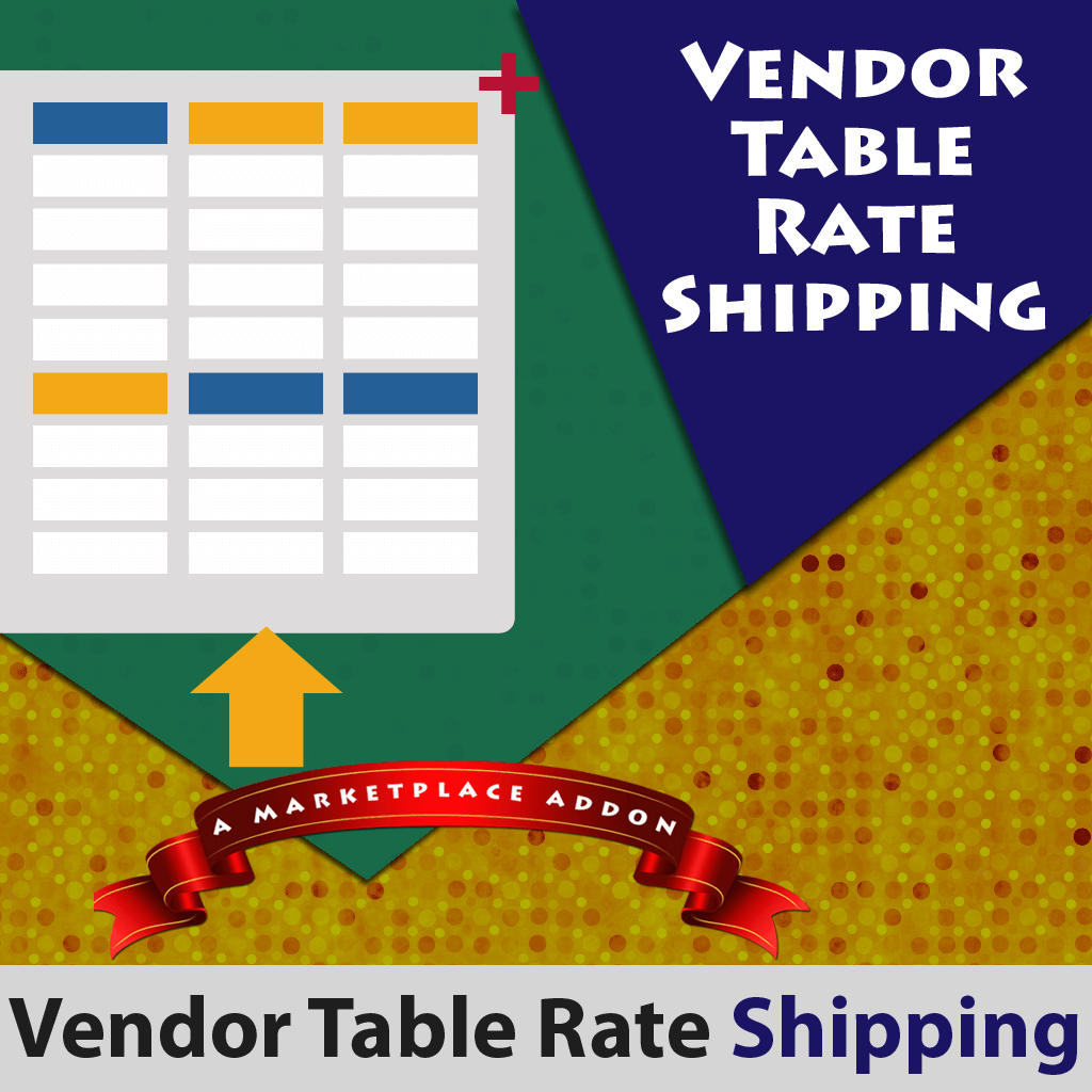 Vendor table rate shipping addon magento marketplace for Table rate shipping