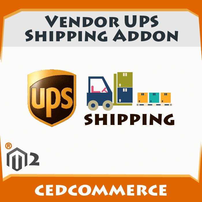 Vendor UPS Shipping Addon [M2]