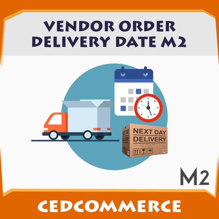 vendor order delivery date